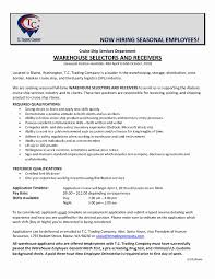 Cover Letter For A Warehouse Position Best Of Warehouse Supervisor