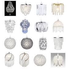 chandelier style ceiling light shades