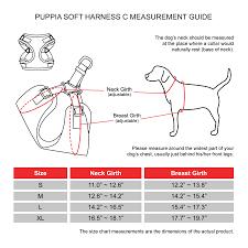 Puppia Soft Harness C Pink M
