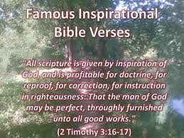 Famous Bible Quotes About Life Enchanting Famous Inspirational Bible Verses Inspirational Christian Quotes