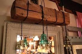 wood beam chandelier reclaimed barn wood beam chandelier vintage insulator lights wood beam chandelier diy wood