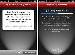 hirevue interview questions hirevue app interview anywhere allow candidates to take interviews