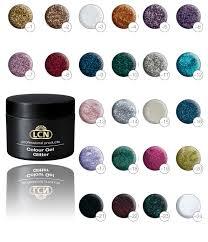 Lcn Gel Color Chart 6 For 60 Colour Gel Glitter 6for60cgg