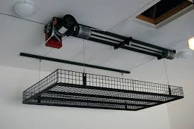 garage pulley system shelf motorized garage storage car lift for pulley system hoist ceiling bike garage garage pulley system