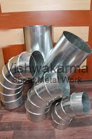 metal duct pipe. Perfect Duct Round Duct Pipe In Metal