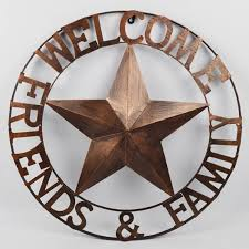 on texas star metal wall art with texas star metal wall art with circles