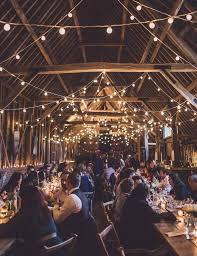 barn wedding lights. Barn Wedding Festoon Lights
