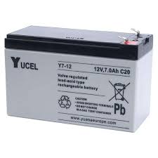 Yucel Y7 12 Battery 12v 7ah