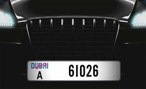 Car Plate Design Motorists In Dubai Urged To Purchase New Number Plates Uae