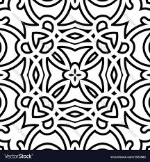 Lattice Pattern Interesting Lattice Pattern Royalty Free Vector Image VectorStock