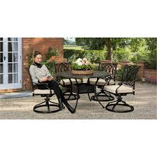5 piece round patio set montreal rc