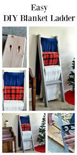 Diy Blanket Ladder Blanket Ladder Herojpg