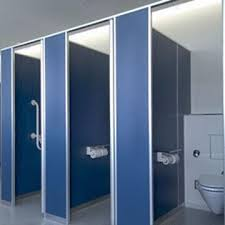 Bathroom Partition Wall Set
