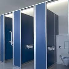Bathroom Partition Wall Set