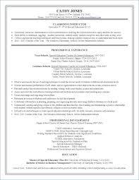 Resume Objective For Child Care Teacher Igniteresumes Com