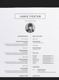 Creative Design Amazing Resume Templates 50 Awesome Resume Templates