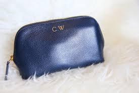 monpurse monogrammed cosmetic pouch