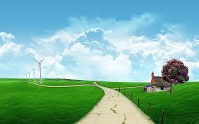 gambar-pemandangan-padang-rumput-indah ...