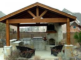 Outdoor Kitchen Fireplace Spectacular Kitchen Outdoor Fireplace Designs Design Remodeling