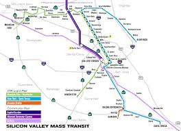 San Jose Light Rail Map File Vta Light Rail Svg Wikimedia Commons