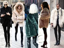 street snapper vintage furs a plenty in the city right now