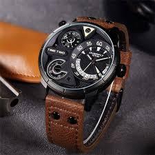 wrist watch companies promotion shop for promotional wrist watch eyki 2017 mens watch fashion top man sport watches leather brown watchband multifunction watch male quartz wrist watches black
