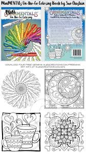 Minimentals On The Go Coloring Book