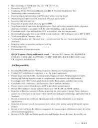 Resume For Quality Engineer Quality Assurance Test Engineer
