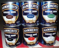 hammerite garage door paint 750ml black white red chestnut oxford blue green