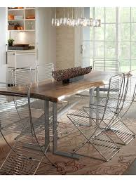 rustic modern dining table. inspiration for a contemporary dining room remodel in grand rapids rustic modern table 0