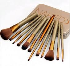 beauty essentials quality brush set professional directly from china suppliers metal box makeup cosmetic brushes set professional powder