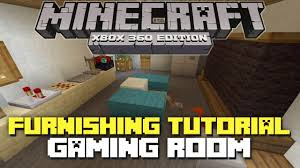 Minecraft Bedroom Xbox 360 Minecraft Xbox 360 House Furniture Ideas And Tutorial Gaming