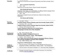 Free Teacher Resume Builder Teacher Resume Format Doc Free Download Resumesemplates School For 1