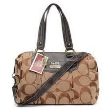Coach Legacy Logo Signature Medium Khaki Luggage Bags EHJ