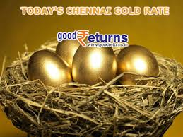 Gold Rate Chart In Chennai Todays Gold Rate In Chennai 22 24 Carat Gold Price On