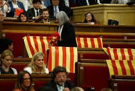 Resultado de imagen de violencia Referendum catalan hoy