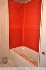 waterproof membrane for bathrooms bathtub surround with waterproofing membrane bathtub surround home bathroom remodeling master waterproof