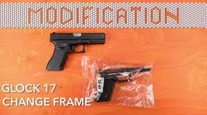modification ksc kwa glock 17 frame airsoft