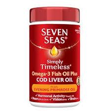 cod liver oil plus evening primrose oil