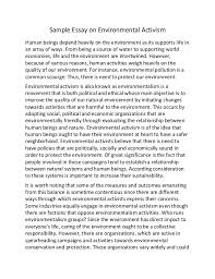 essay of environmental conservation research paper academic service essay of environmental conservation