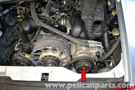 pelican technical article porsche 993 a c belt replacement on both the varioram and non varioram porsche 993s the a c compressor is