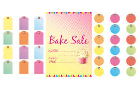 sale signs printable free bake sale signs and labels