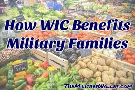 How Wic Benefits Military Families With Healthy Food And More