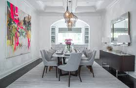 art for the dining room. Unique Room 40 Dining Rooms With Standout Artwork To Art For The Room W