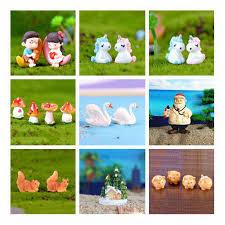 <b>10 Pcs</b>/set <b>Mini</b> Little Yellow Duck Fairy Garden <b>Home</b> Plants ...