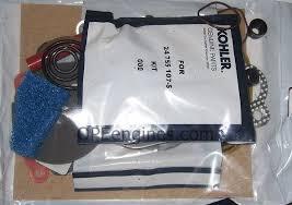 kohler part s overhaul gasket set command twin ch cv  kohler part 24755107s overhaul gasket set command twin ch cv 17 18 20 22 hp