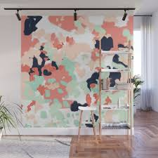 Neutral office decor Inexpensive Suma Abstract Gender Neutral Trendy Home Office Nursery Decor Painting Wall Mural Society6 Suma Abstract Gender Neutral Trendy Home Office Nursery Decor