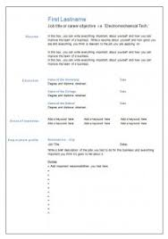 7 Free Blank Cv Resume Templates For Download – Free Cv Template Dot Org