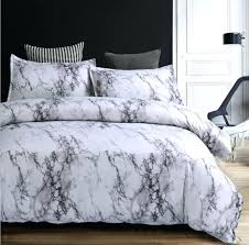 contemporary bedding sets marble duvet cover sets modern bedding sets for s reversible white grey pattern