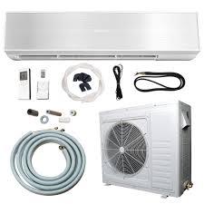 air conditioning split unit. ramsond 24,000 btu 2 ton ductless mini split air conditioner and heat pump - 220v/60hz-74gw2 the home depot conditioning unit